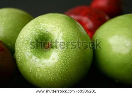 Apple fruit - stock photo