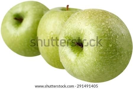 Apple, Fruit, Granny Smith Apple. - stock photo