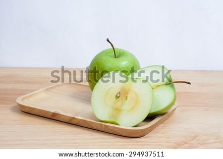 Apple green - stock photo