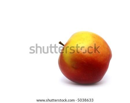 Apple isolated on white. - stock photo