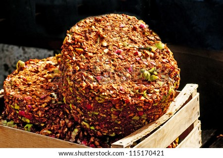 apple pomace - stock photo