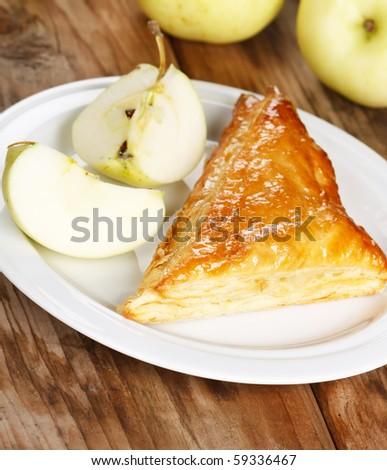 Apple puff - stock photo