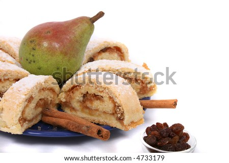 apple roll with pear