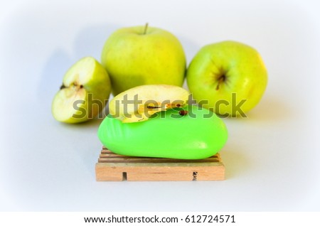 Apple soap