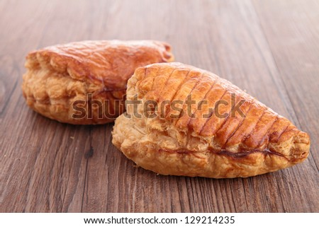 apple turnover - stock photo