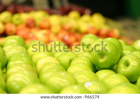 Apples for Sale - stock photo