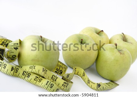 apples & measuring tape