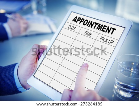 Appointment Schedule Memo Management Organizer Urgency Concept - stock photo