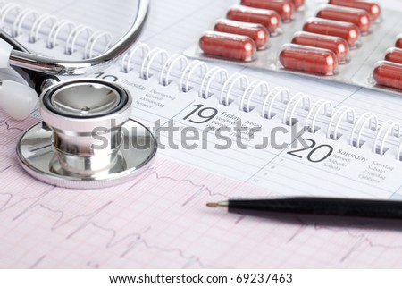 Appointment with your doctor - stock photo