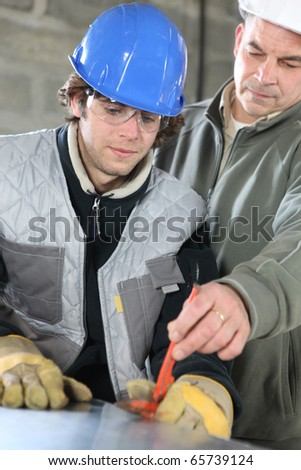 Apprenticeship with a zinc worker
