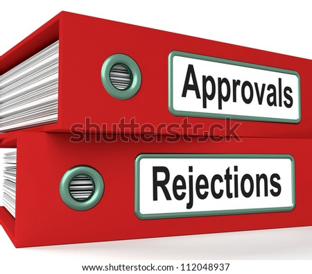 Approvals Rejections Files Shows Accept Or Decline Reports