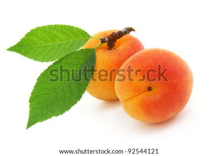 Apricot. - stock photo