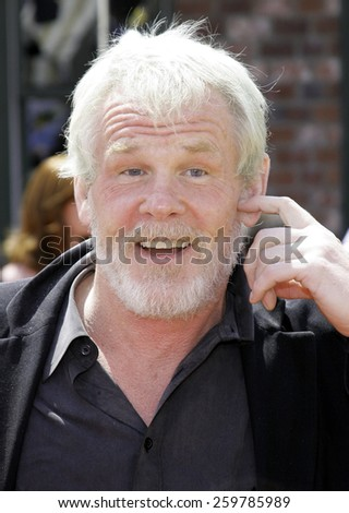 "April 30, 2006. Nick Nolte attends the Los Angeles Premiere of DreamWorks' ""Over The Hedge"" held at the Mann Village Theatre in Westwood, California United States."