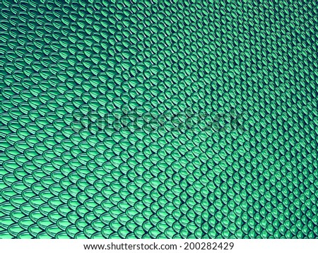 Aqua blue Scales glossy texture or background. Large resolution