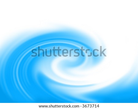 aquamarine storm wave as a background - stock photo