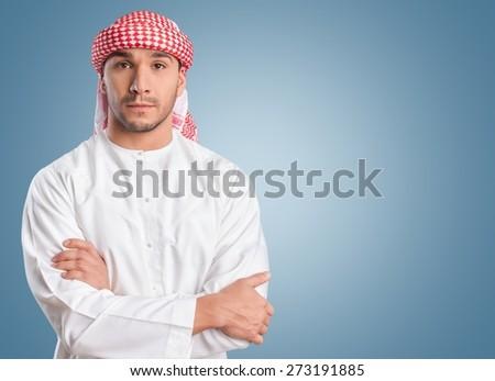 Arab, arabic, business. - stock photo