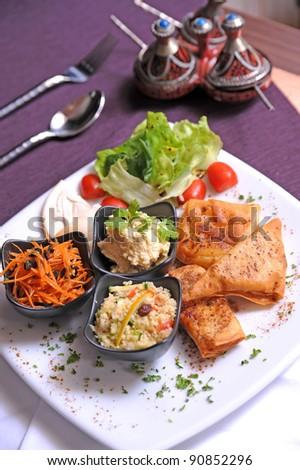 arab food - stock photo
