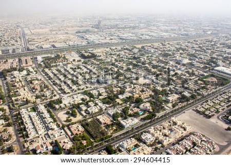 Arab mosque at Jumeirah, Dubai, United Arab Emirates - stock photo