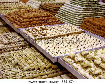 Arab Sweets - stock photo