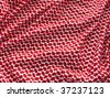 Arabian bandanna pattern closeup. More of this motif in my port. - stock photo