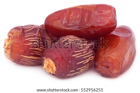 Arabian Dates over white background