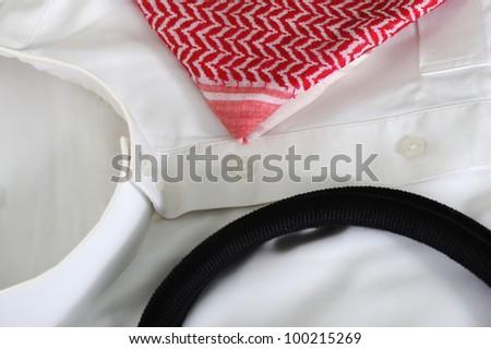 Arabian gulf clothes - stock photo