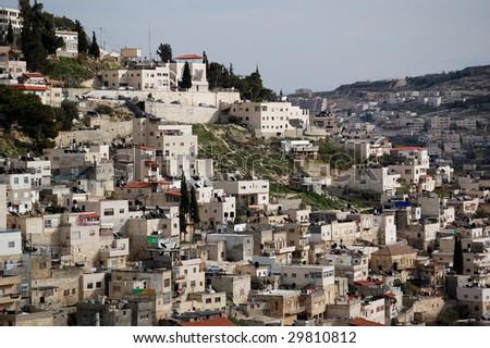 Arabian village in Israel - stock photo