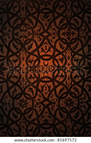 Arabic background pattern - stock photo