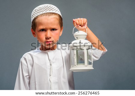 Arabic boy. - stock photo