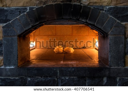 arabian fireplace arabic bread stock images royalty free images vectors