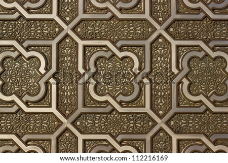 Arabic style background - stock photo