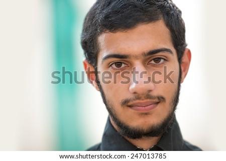 Arabic teenager - stock photo