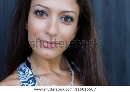 Arabic woman - stock photo