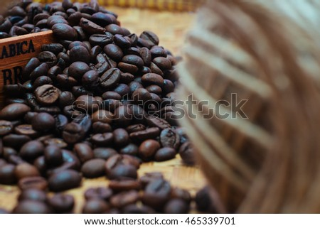 Arabica Coffee from Java Island of Indonesia