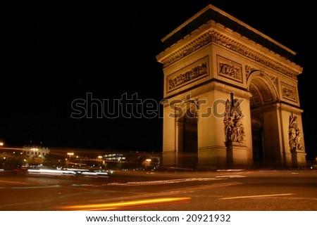 Arc de Triomphe - stock photo