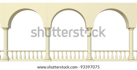 arch - stock photo