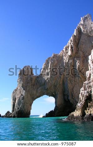 Arch of Cabo San Lucas, Mexico - stock photo