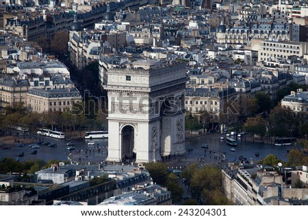 Arch Triomphe - stock photo