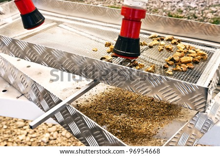Archaeological Dig - stock photo
