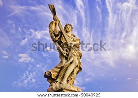 Archangel Rome - stock photo