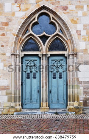 Door arches for Arch decoration crossword clue