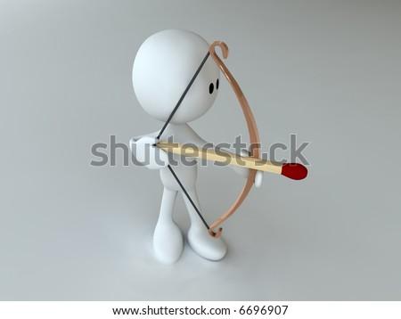 Archer - stock photo