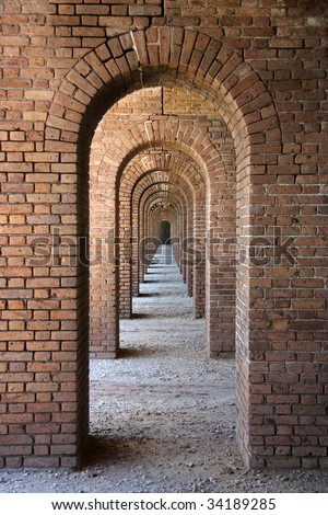 Arches - stock photo