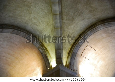Arches in Ceiling
