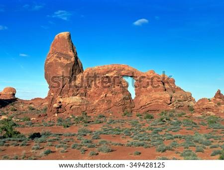 Arches national park, Utah - stock photo