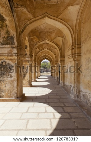 Arches Qutb Shahi Tombs, Hyderabad - India