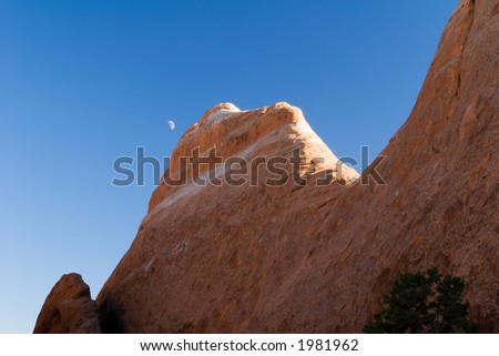 Arches, Utah - stock photo