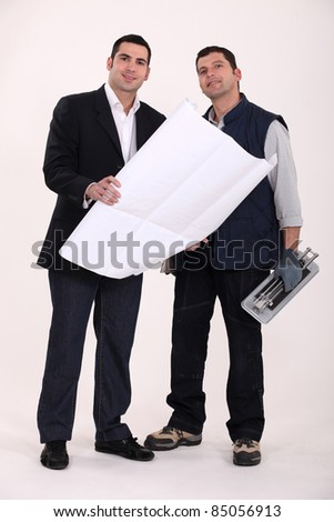 Architect and tiler