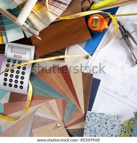 Interior Design Tools interior designer stock images, royalty-free images & vectors