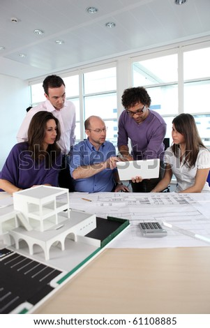 Architects meeting